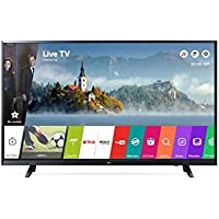 "LG 43UJ620V 43"" 4K Ultra HD Smart TV Wi-Fi Black LED TV, 43"", 3840 x 2160 Pixels, LED, Wi-Fi, Nero"
