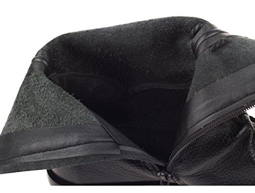 Matchlife, Chaussures Bateau Femme Noires