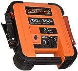 Die besten Black & Decker 12 Volt Autobatterien - Black + Decker BDJS350-QW Sofort-Starthilfe 350A, 12V, LED Bewertungen