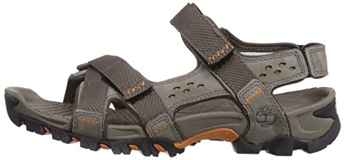 Timberland Eldridge Sandal  Men   S Ankle-Strap Sandals  Grey  Pewter Grey   7 5 UK  41 1 2 EU