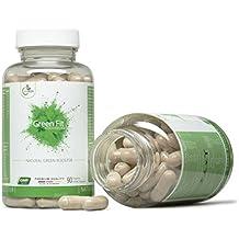 LifeWize® Green Fit - Natürlicher Booster Leistungssteigerung, Fokus & Energie - Sanft & Pflanzlich Gegen Müdigkeit - 90 Kapseln - Vegan & Ohne Zusatzstoffe - Made In Germany