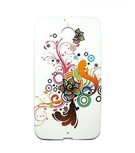 RKA New Designer Soft Tpu Silicon case cover Back Skin for Google Motorla Nexus 6 #21