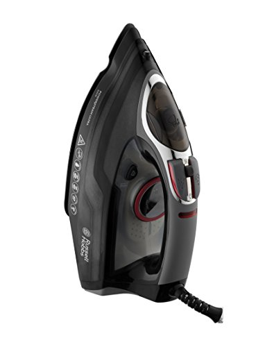 Russell Hobbs Powersteam Ultra 3100 W Vertical Steam Iron 20630 – Black and Grey