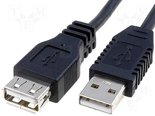 RALLONGE PORT USB MALE FEMELLE 1.80m