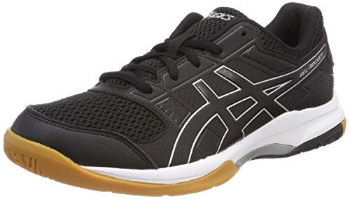 Asics Gel-Rocket 8, Zapatos de Voleibol Para Hombre, Negro (Blackblackwhite...