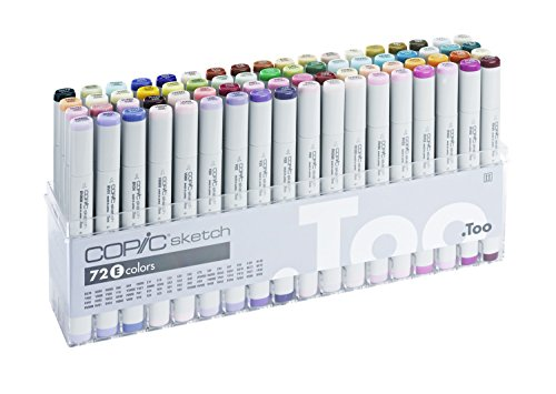 Copic Sketch - Set E - 72er Set