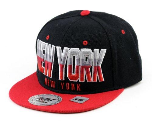 Superbe casquette hip hop de New-York brodé. Un accessoire de rue indispensable. Produit offert par NYfashion101