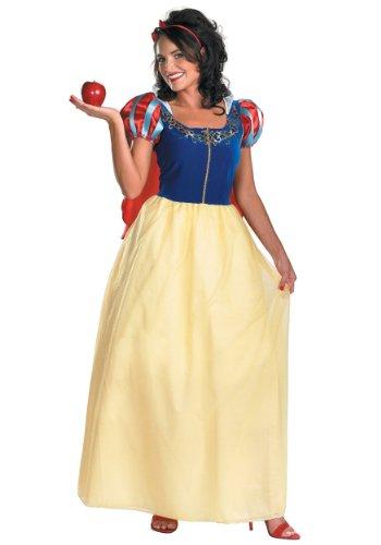Disguise Costumes Disney Snow Deluxe Kostüm für Erwachsene Gr. L ,  - multi-colored (Snow White Deluxe Adult Kostüme)