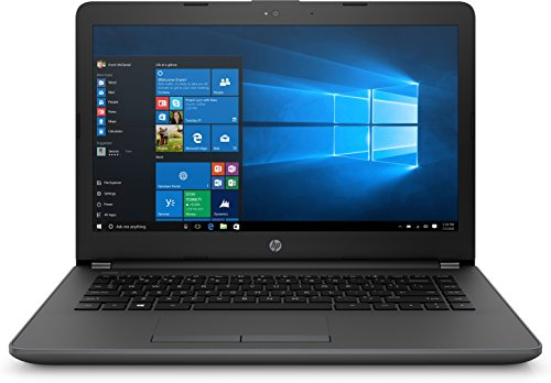 HP 240 - Ordenador portátil de 14' (Intel Core i3-7020U, 8 GB de RAM, 256 GB de Disco Duro, Windows 10 Home) Color Negro
