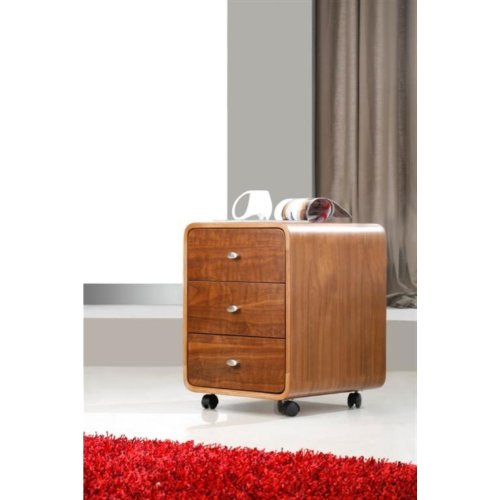 Jual Helsinki Walnut Drawer Unit with Castors