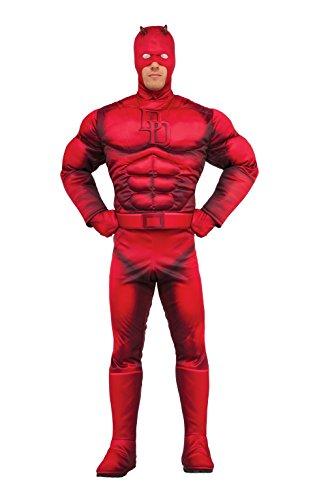 Marvel Daredevil Deluxe Kostüm–Erwachsene Standard Größe (Marvel's Daredevil Kostüm)