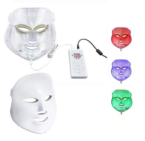Beautystar 3 couleurs Lumière Photon LED Masque rajeunissement de la peau Beauty Therapy