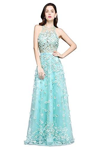Babyonline® Damen Luxuriös Abendkleider Rosa Lang Cocktailkleider ...