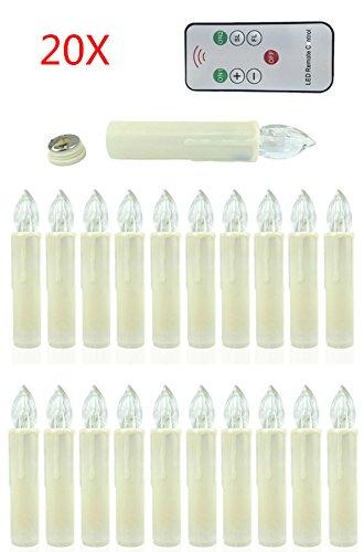 Witss tre candele senza 20 fiamma profumate alla vaniglia con telecomando e timer a colore cangiante dimensioni disponibili