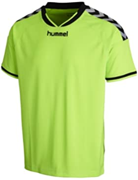 Hummel Trikots Stay Authentic Poly Jersey - Prenda, color verde, talla DE: 14-14(164-176)