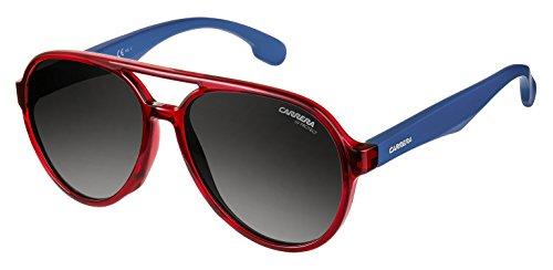 Carrera Junior Unisex-Kinder Carrerino 22 9o Sonnenbrille, Rot (RED/DARK GREY SF), 51