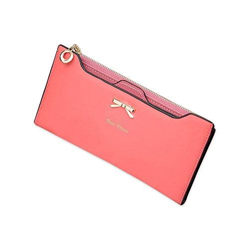 Pochette per portafoglio con carta di credito Bifold Multi Card Rosso