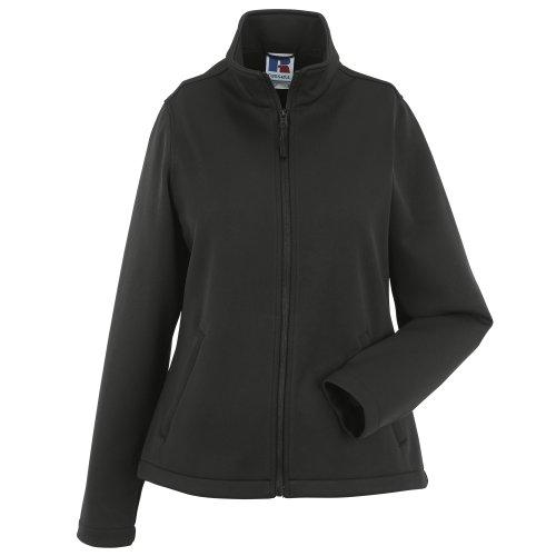 Russell Damen Smart Softshell-Jacke (L) (schwarz)