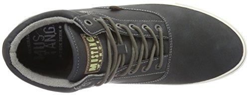 Mustang 4103-501, Sneakers Hautes Homme Noir (9 schwarz)