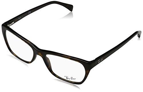 Ray-Ban Damen 5298 Brillengestelle, Schwarz (Negro), 55