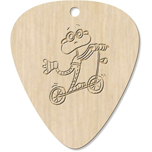 7-x-frog-on-a-scooter-engraved-guitar-picks-pendants-gp00008122