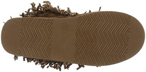 Canadians Boots, Bottes mi-hauteur avec doublure chaude femme Beige - Beige (400 BEIGE)