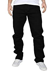 Wrangler Homme Texas Regular Fit Stretch Jeans, Noir, 30W x 30L