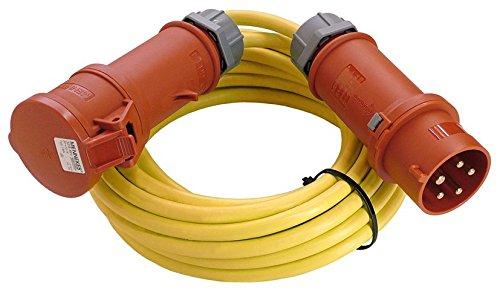 Starkstrom Verlängerungskabel 5m K35 N07V3V3-F 5G2,5 CEE Kabel für Aussen, Outdoor, Garten und Aussenbereich 80202
