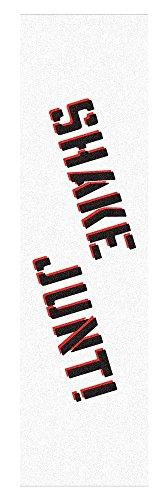 Shake Junt OG Pro besprüht Skateboard Griptape 22,9x 83,8cm-Weiß/Schwarz