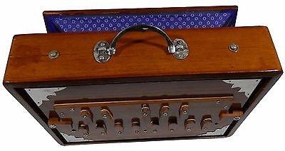 Indischer Maharadscha Shruti Box–Teak Holz Surpeti–13Drone Notizen c-to-c shruthi indischen Musikinstrument