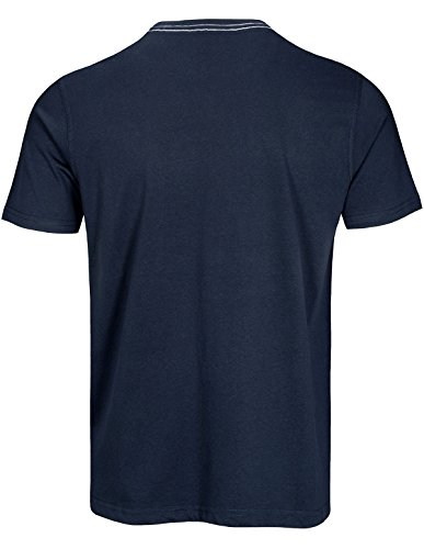 Basefield Herren T-Shirt Beach - Dusty Navy (219011956) 609 DUSTY NAVY