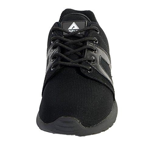 Schuhe Asfvlt Super-Mesh-Schwarz / Schwarz Outsole Noir