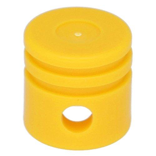 Preisvergleich Produktbild LEGO 10 x Technik Motor Kolben rund Knallhellorange