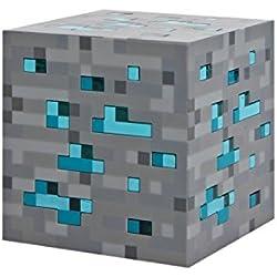 MINECRAFT 312 - Lámpara mineral con luz para playsets, color azul