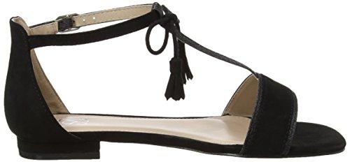 Evans20G08XNEU, Sandali alla caviglia Donna Nero (Black)