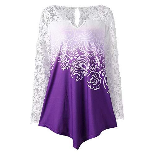 Selou Mode Frauen V-Ausschnitt mit langen Ärmeln Hübsche -
