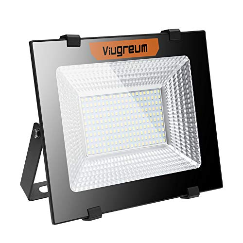 Viugreum Spotlight LED, 100W Superhell LED Spotlight, 10000LM, 6000K - 6500K blanco...