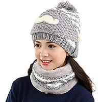 China Show Mujeres Schöne Bigote Invierno Gorro Polar Forrado Ciclo de Gorro Sombrero con máscara Gris