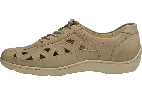 Waldlaufer Womens Denver Henni Leather Shoes Corda