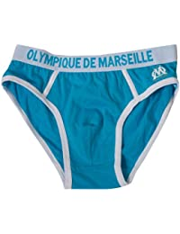 Slip Homme OM - Sous-vêtement Collection officielle - OLYMPIQUE DE MARSEILLE - Football club Ligue 1