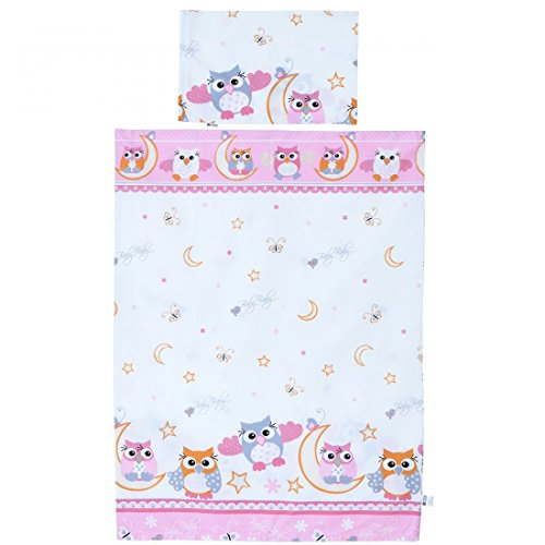 LCP Kids Owls pink 2 Pcs Baby Co...