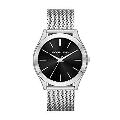 Michael Kors Relojes para Hombre Slim Runway Acero Inoxidable Reloj