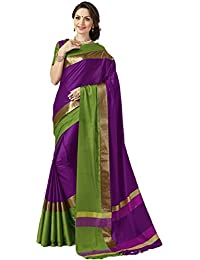 Indian Beauty Art Silk Saree With Blouse Piece
