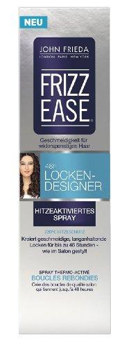 John Frieda Frizz Ease 48h Locken Designer Hitzeaktiviertes Spray, 1er Pack (1 x 100 ml)