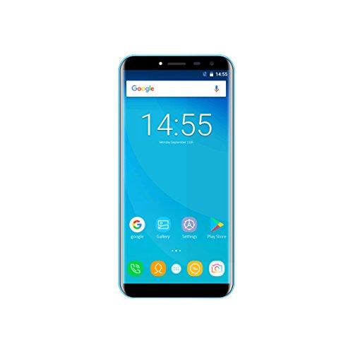 Handy-akku 3000 Mah (Smartphone Ohne Vertrag, OUKITEL C8 3G Android 7.0, MT6580A Quad Core, 5.5 Zoll HD Bildschirm, 2GB RAM 16GB ROM, Dual Kamera 13MP + 5MP, Dual Sim 3000mAh Akku, 0.1S Fingerabdruck Handy (Blau))