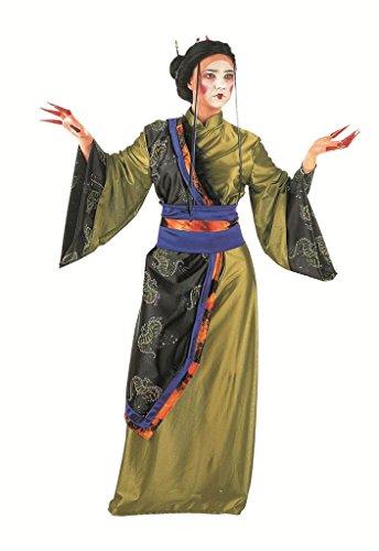 Limit Sport-Kostüm Geisha Gold, für Erwachsene, Gr. XL (MA281) (Drachen Geisha Kostüm)