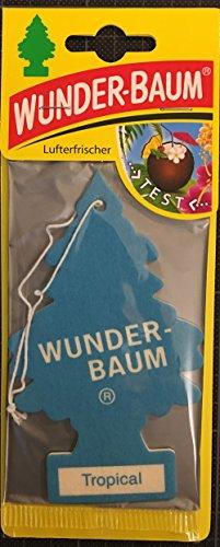 Wunderbaum Lufterfrischer Duftbaum Tropical Auto Haus und heim Tropical Tree (2)