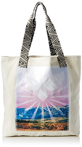 Volcom - Volcom Shore Thang Tote Handtasche Damen, cartella Donna Multicolore (Art)
