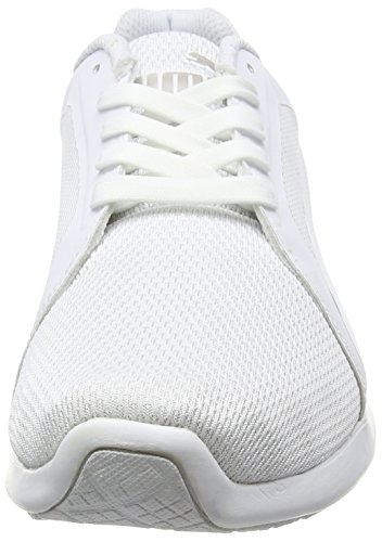 Puma St Trainer Evo Tech, Sneakers basses mixte adulte Blanc (White/White)