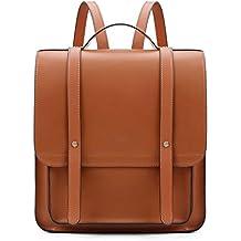 ff0279fd6cb0d ECOSUSI Rucksackhandtaschen Set mit Einer Kleinen Brieftasche PU Leder  Rucksack